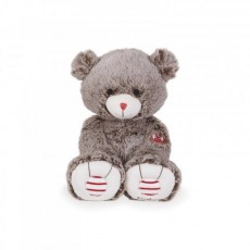 Peluche Ours Brun Cacao 31 cm - Rouge Kaloo