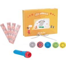 Coffret cinéma animaux Les petites merveilles - Moulin Roty