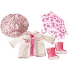 """Ensemble pour poupée """"Manteau de pluie"""" - Götz"""