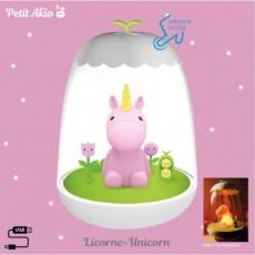 Veilleuse rechargeable Licorne - Petit Akio