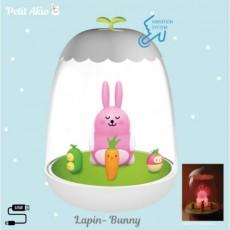 Veilleuse rechargeable Lapin - Petit Akio