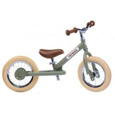 Trybike acier Vintage, Draisienne Vert 2 roues - Trybike