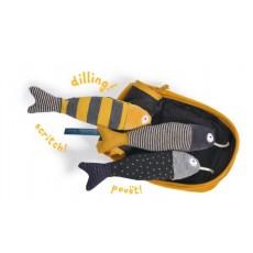 Boîte à sardines d'activités Les Moustaches - Moulin Roty