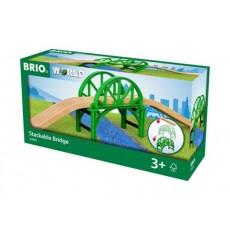 Pont empilable avec rails - Brio