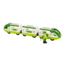 Train de voyageur vert - Brio