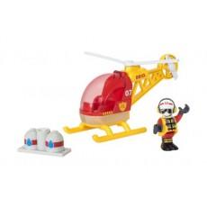 Hélicoptère des pompiers - Brio
