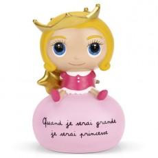 Tirelire Princesse - Quand je serai grand(e) par Isabelle Kessedjan