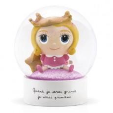 Boule à neige - Princesse - Quand je serai grand(e) par Isabelle Kessedjan