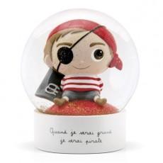 Boule à neige - Pirate - Quand je serai grand(e) par Isabelle Kessedjan