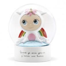 Boule à neige - Licorne - Quand je serai grand(e) par Isabelle Kessedjan