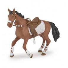 Figrine Cheval de la cavalière fashion hiver - Papo