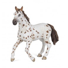 Figurine Jument Appaloosa brune - Papo