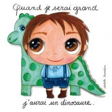 Tableau Dinosaure - Quand je serai grand(e) par Isabelle Kessedjan