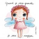 Tableau Magique - Quand je serai grand(e) par Isabelle Kessedjan