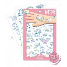 Tatouages - Licornes - Djeco