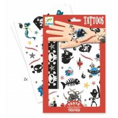 Tatouages - Pirates - Djeco