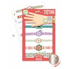 Tatouages - Les montres de Wendy - Djeco