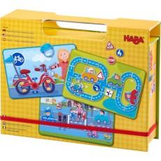 Boîte de jeu magnétique Sur la route - Haba