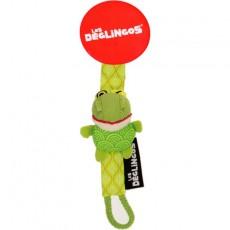Attache tétine Croakos la grenouille - Les Déglingos