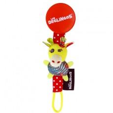Attache tétine Operchos la girafe - Les Déglingos