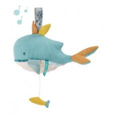Peluche musicale Joséphine la baleine Le Voyage d'Olga - Moulin Roty