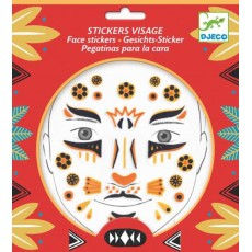 Stickers visage - Léopard - Djeco