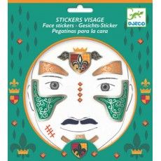 Stickers visage - Chevalier - Djeco