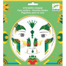 Stickers visage - Dragon - Djeco