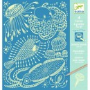 Cartes à gratter - Sea Life - Djeco