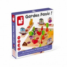 Jeu d'association - Garden Panic ! - Janod