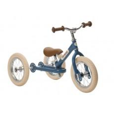 Tricycle et draisienne acier 2-en-1 Bleu - Trybike