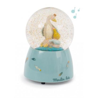 Boule à neige musicale Le Voyage d'Olga - Moulin Roty