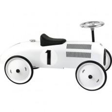 Porteur voiture vintage métal blanc polaire - Vilac