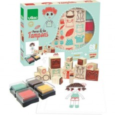 Coffret tampons Perso & cie - Vilac