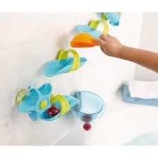 Toboggan à billes les plaisirs du bain - Entonnoir à eau - Haba