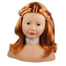 Tête à coiffer et à maquiller roux - Götz