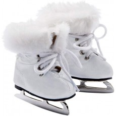Patins à glace blancs pour poupée de 42 à 50 cm - Götz