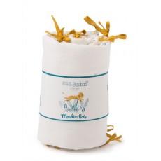 Tour de lit crème Sous mon baobab - Moulin Roty