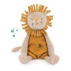 Peluche musicale lion Sous mon baobab - Moulin Roty