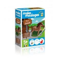 """Moulage en plâtre """"Mon cheval"""" Mako Créations"""
