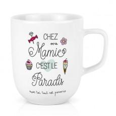 Mug Céramique XL - Mamie Paradis - Créa Bisontine