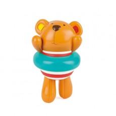 """Jouet de bain """"Teddy et sa bouée"""" - Hape"""