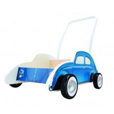 """Chariot de marche """"Trotteur Coccinelle bleu"""" - Hape"""