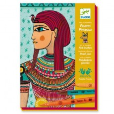 Atelier feutres pinceaux - Art Egyptien - Djeco Design by