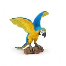 Figurine Perroquet Ara Bleu - Papo