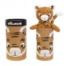 Peluche Simply 23 cm Speculos le tigre - Les Déglingos