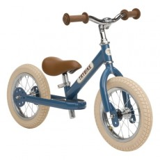 Trybike acier Vintage, Draisienne Bleu 2 roues - Trybike
