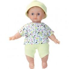 """Poupée Léo Ecolo Doll """"Petit Citron"""" 25 cm - Petitcollin"""