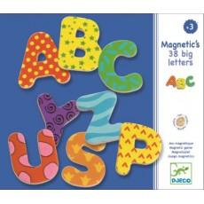 Jeu éducatif 38 lettres fantaisies magnétiques - Djeco