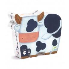 Les Vaches à la Ferme - Puzzle - Djeco